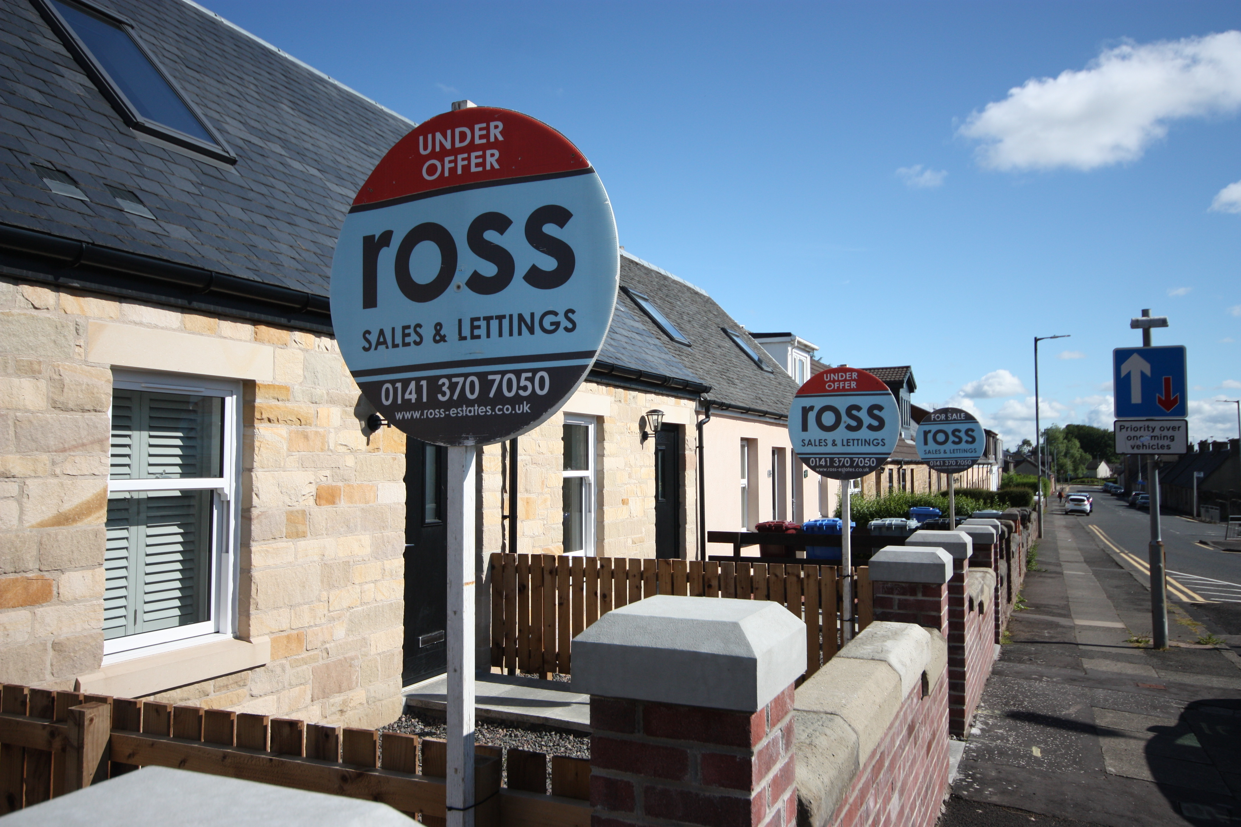3 SOLD IN STONEHOUSE